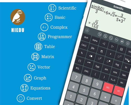 HiEdu Scientific Calculator